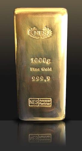 1000g-Goldbarren 999,9 NES
