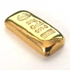 20g Goldbarren-Feingold-9999-NES