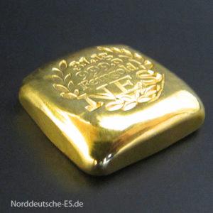 Goldankauf von Goldbarren aus Feingold